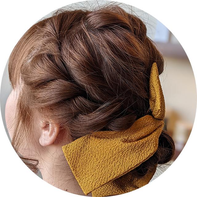 成人式&ヘアセットのまとめ髪