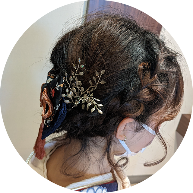 入学式・卒業式に合うヘアセット