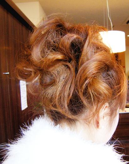 2015成人式まとめ髪