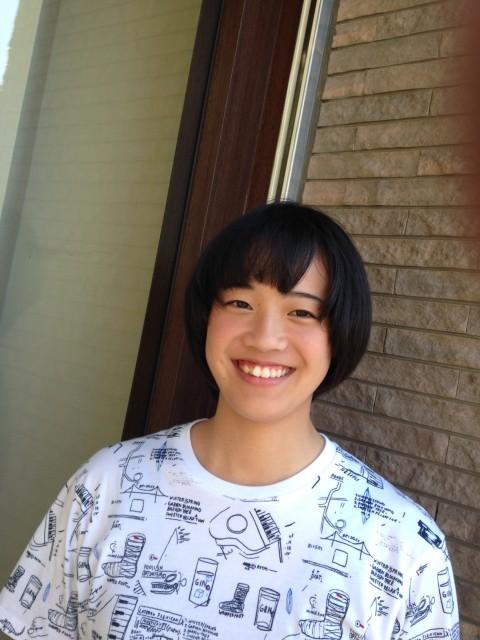 前髪の変化