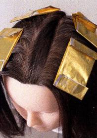 ウエラ白髪染め&ハイライト2