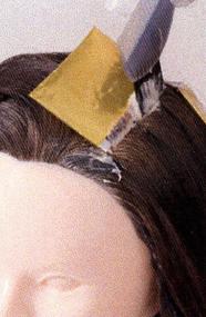ウエラ白髪染め&ハイライト3