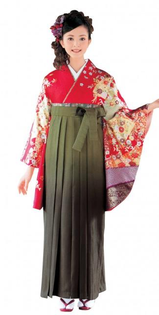 袴古典柄衣装