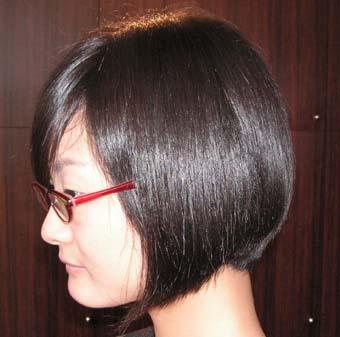 頭の扁平を補正