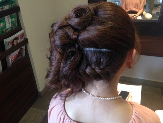 披露宴・結婚式髪型