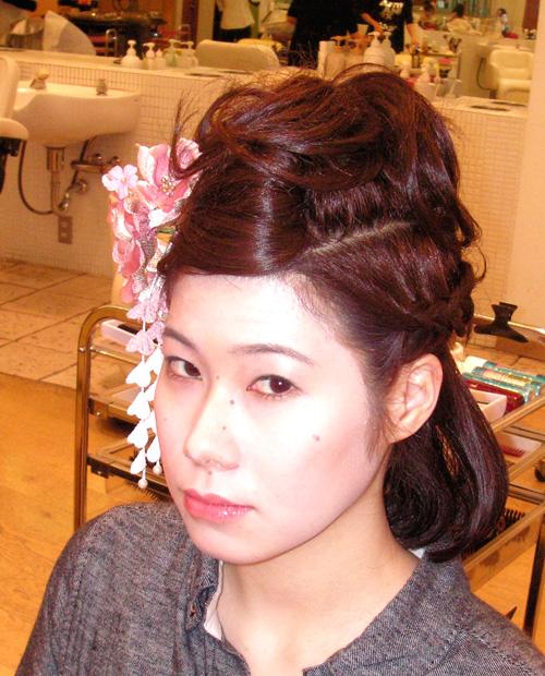 個性派の髪型