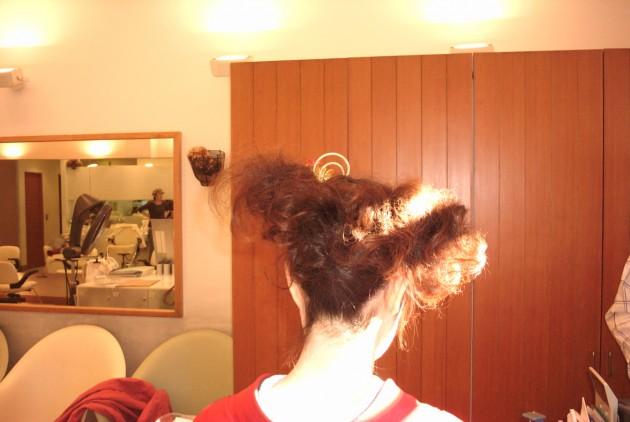 個性的な髪型
