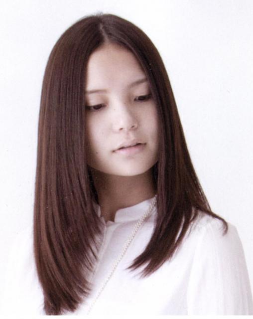 黒染めからのヘアカラー画像