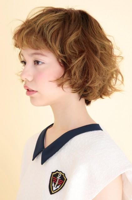 パーマやヘアカラーの毛髪診 画像断
