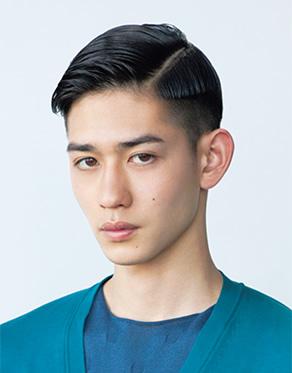 エッジィメンズヘアスタイル 画像