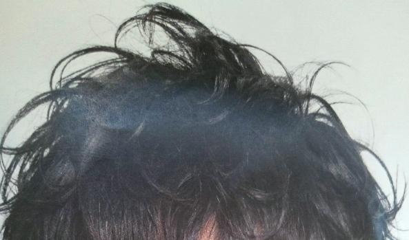 メンズヘア質感画像