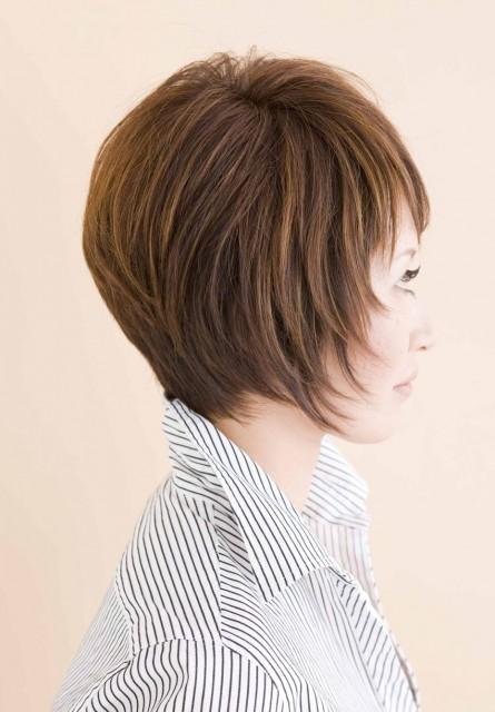 50代のヘアスタイル画像