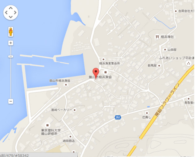 千葉県 館山市 相浜 235地図画像