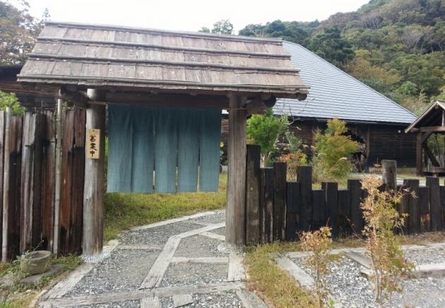 千葉県鴨川の『打墨庵』外観画像