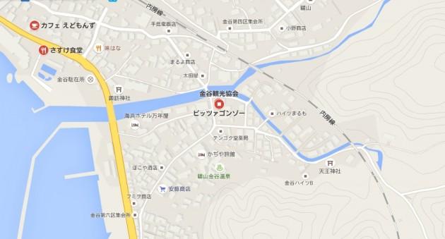 ピッツアコンゾー地図