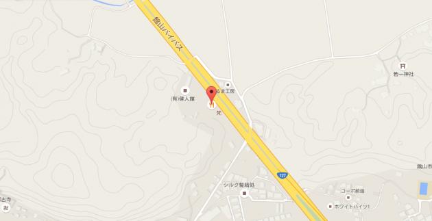 そば処 梵(ぼん)地図