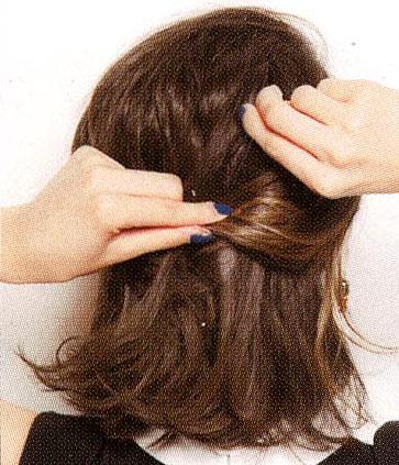 秋・冬まとめ髪画像
