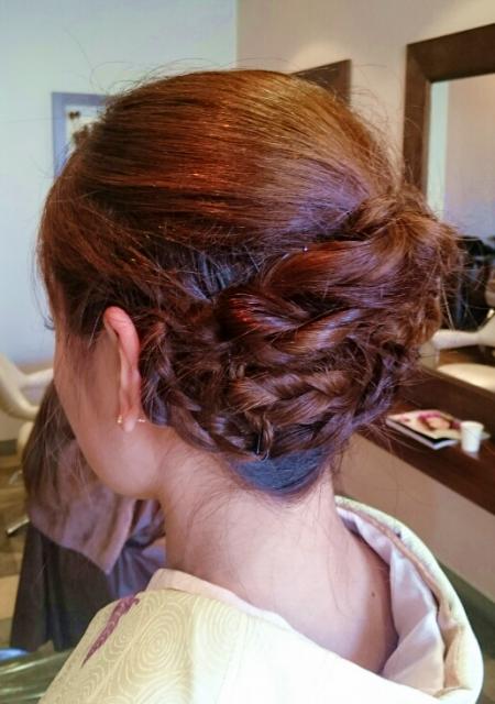 七五三お母さんのの髪型画像