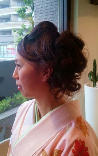 お母さんのの髪型2