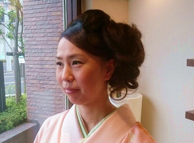 七五三お母さんのの髪型 画像