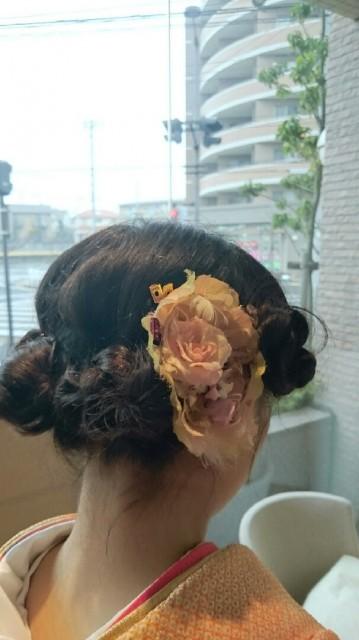 可愛い風な髪飾り画像