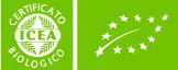 イタリアの有機認証ICEA(イチェア)ロゴ