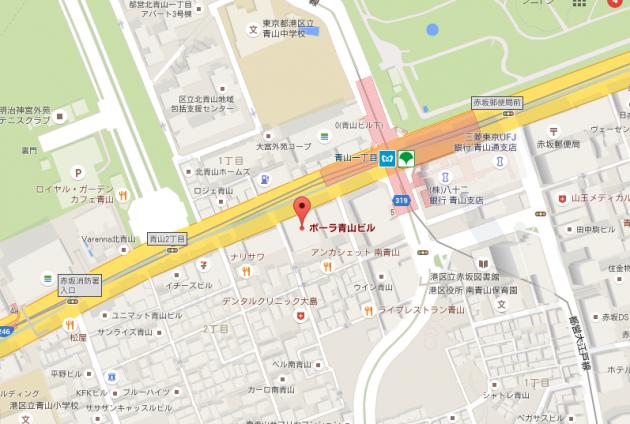 B-ZONE地図