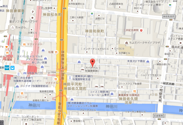 岡本商会地図画像