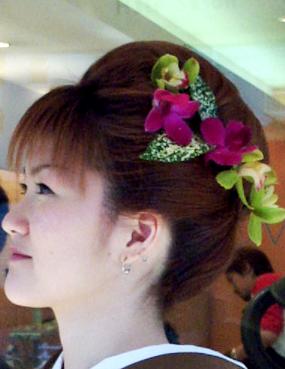成人式に似合う髪型画像
