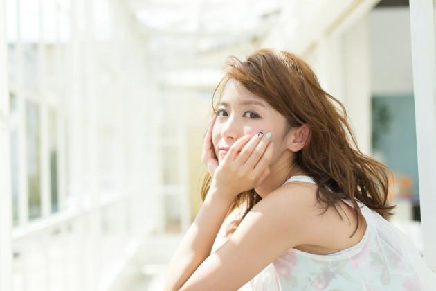 藤井姉妹 姉の荻花ナチュラルロング画像
