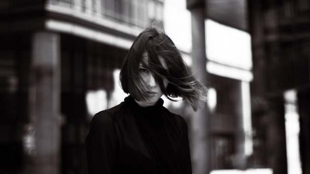 ミィデアムボブのラウンドヘア画像