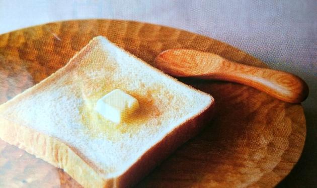 厚切りトーストバター画像