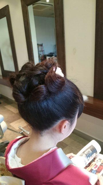 古典的な髪型