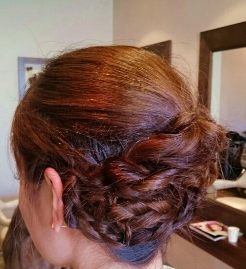 着物に似合う髪型 ヘアセット