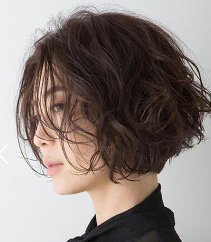 グラデションのヘアスタイル画像