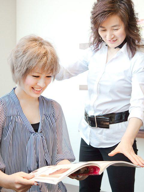 美容師のための英会話教室画像
