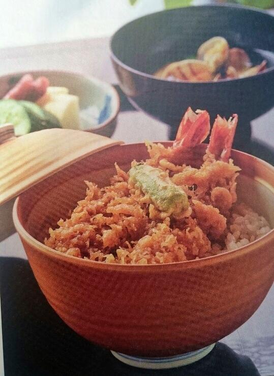 割烹 嶋村「金ぷら天丼」画像