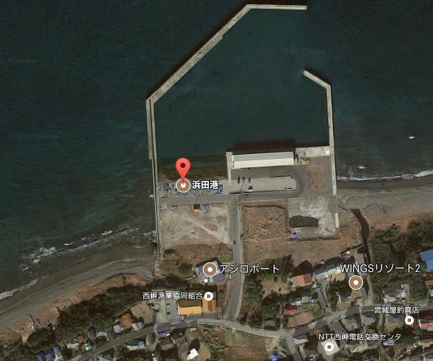 「波止めから浮き釣りや投げがおすすめです」浜田漁港