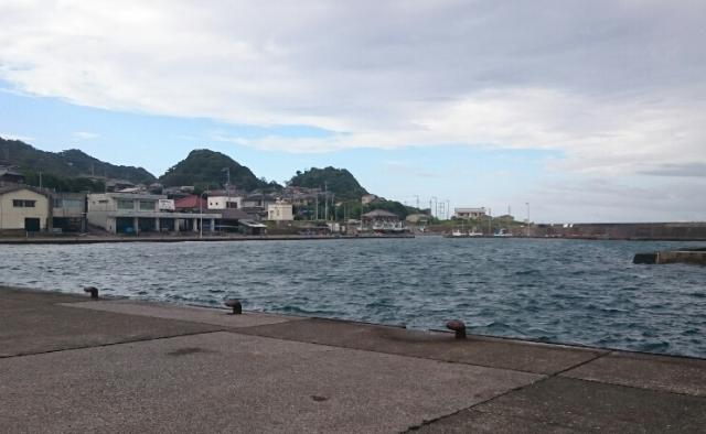 布良漁港画像