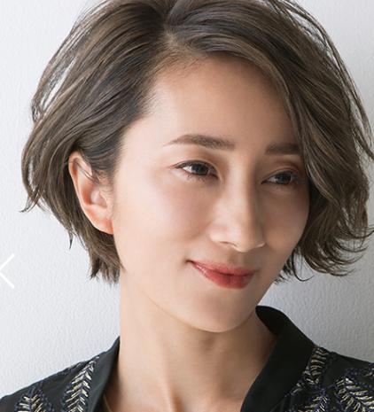 50代女性の髪型のノンダメージヘアデザイン